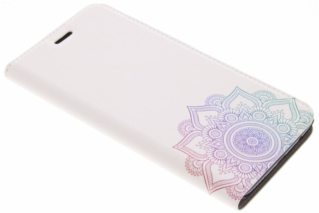 Multicolor Mandala Design Booklet voor de OnePlus 5