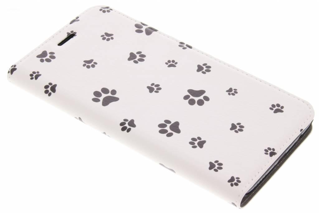 Dierenpootjes Design Booklet voor de OnePlus 5