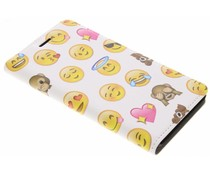 Emoji Design Booklet Huawei Y6 (2017)