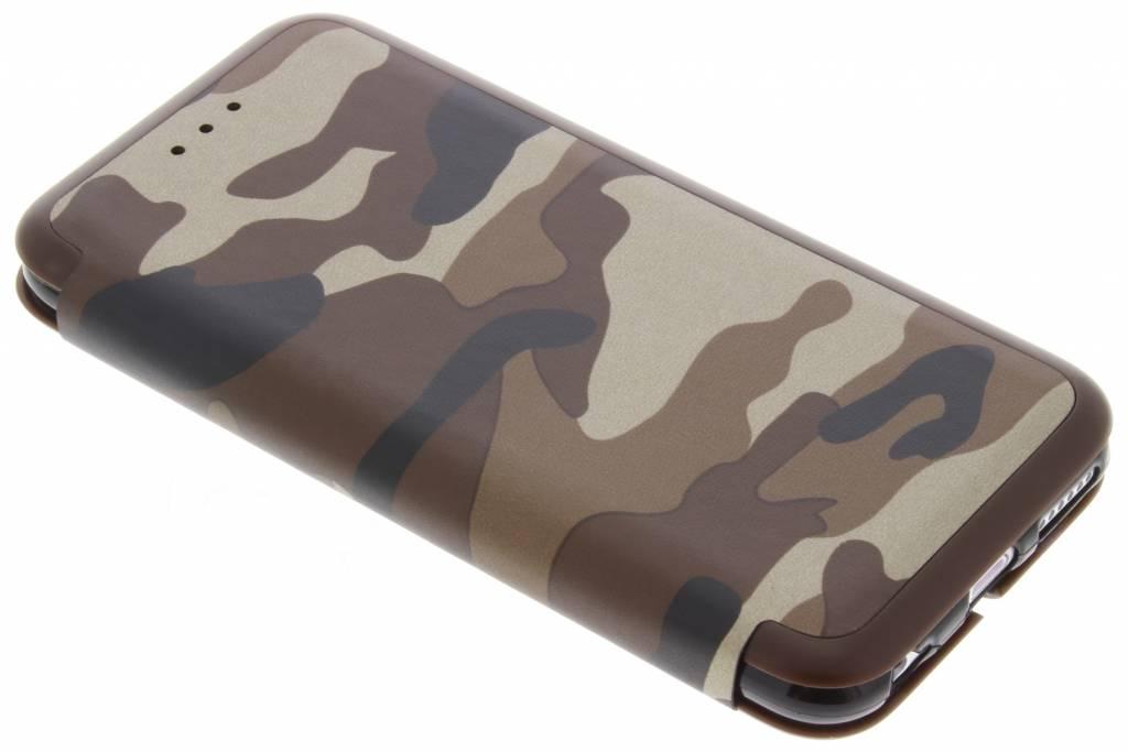 Bruine Army Slim Folio Case voor de iPhone 6 / 6s