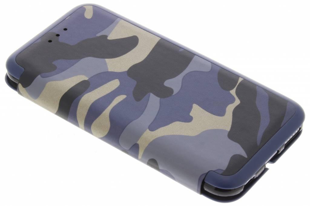 Blauwe Army Slim Folio Case voor de iPhone 6 / 6s