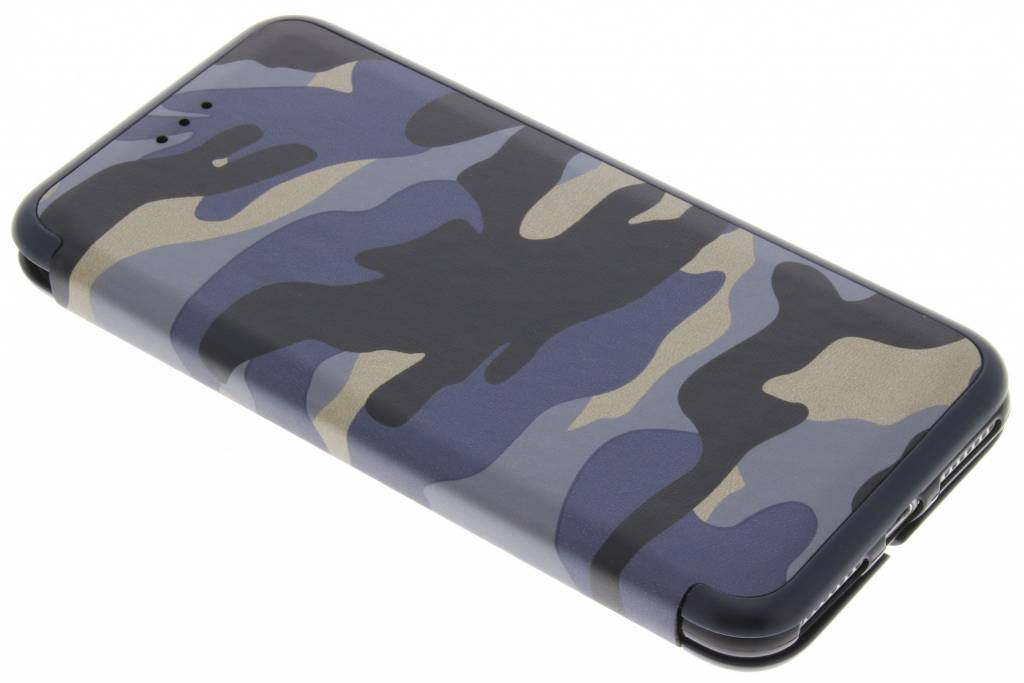 Blauwe Army Slim Folio Case voor de iPhone 8 Plus / 7 Plus