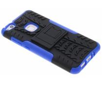 Blauw Autoband Hybrid Case Huawei P10 Lite