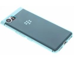 Turquoise Transparant gel case Blackberry KeyOne