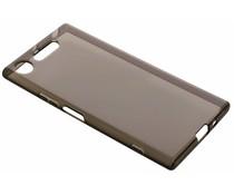 Grijs transparant gel case Sony Xperia XZ1