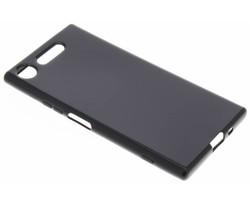Zwart gel case Sony Xperia XZ1