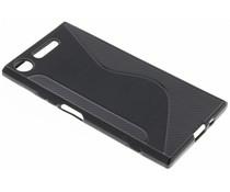 Zwart S-line TPU hoesje Sony Xperia XZ1
