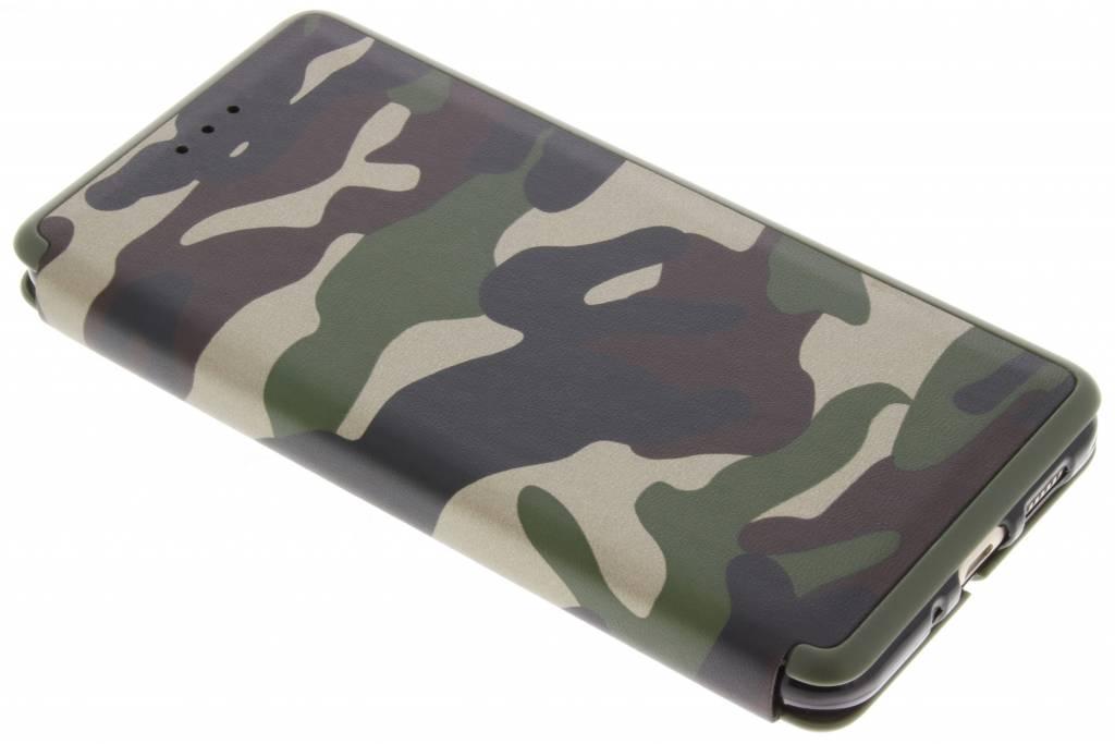 Groene Army Slim Folio Case voor de Huawei P10 Lite