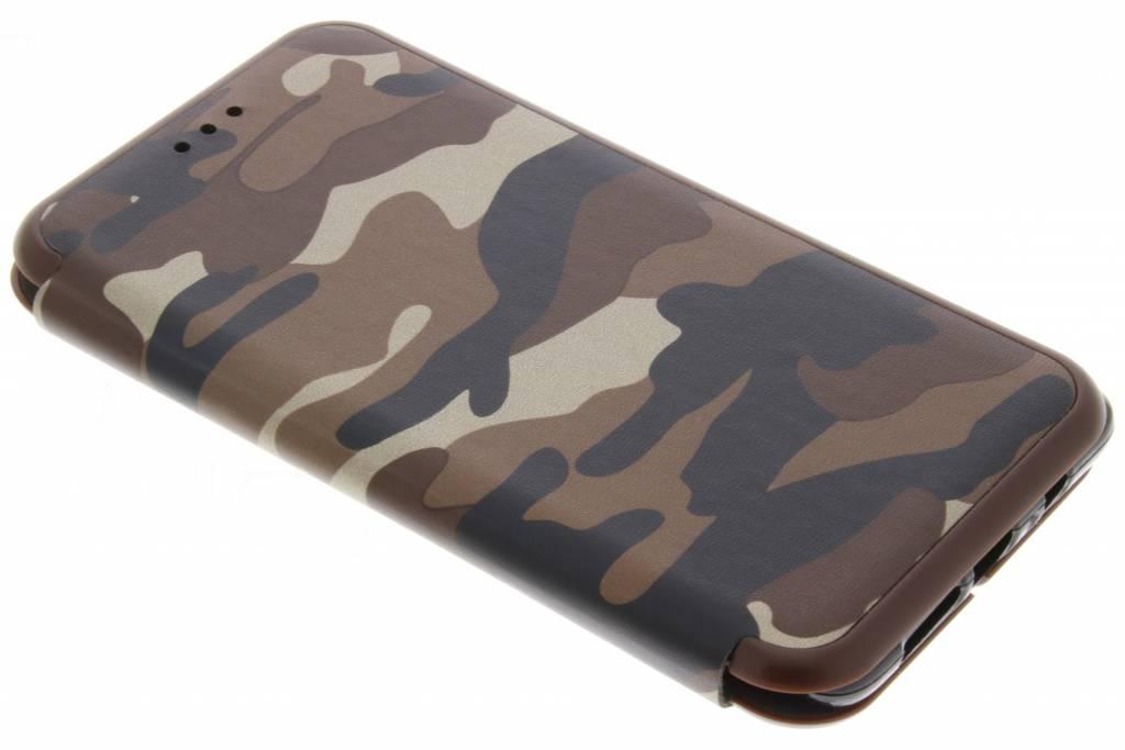 Bruine Army Slim Folio Case voor de OnePlus 3 / 3T