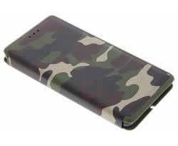 Army Slim Folio Case Huawei P8 Lite