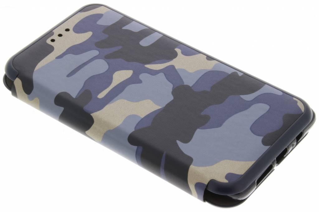 Blauwe Army Slim Folio Case voor de OnePlus 3 / 3T
