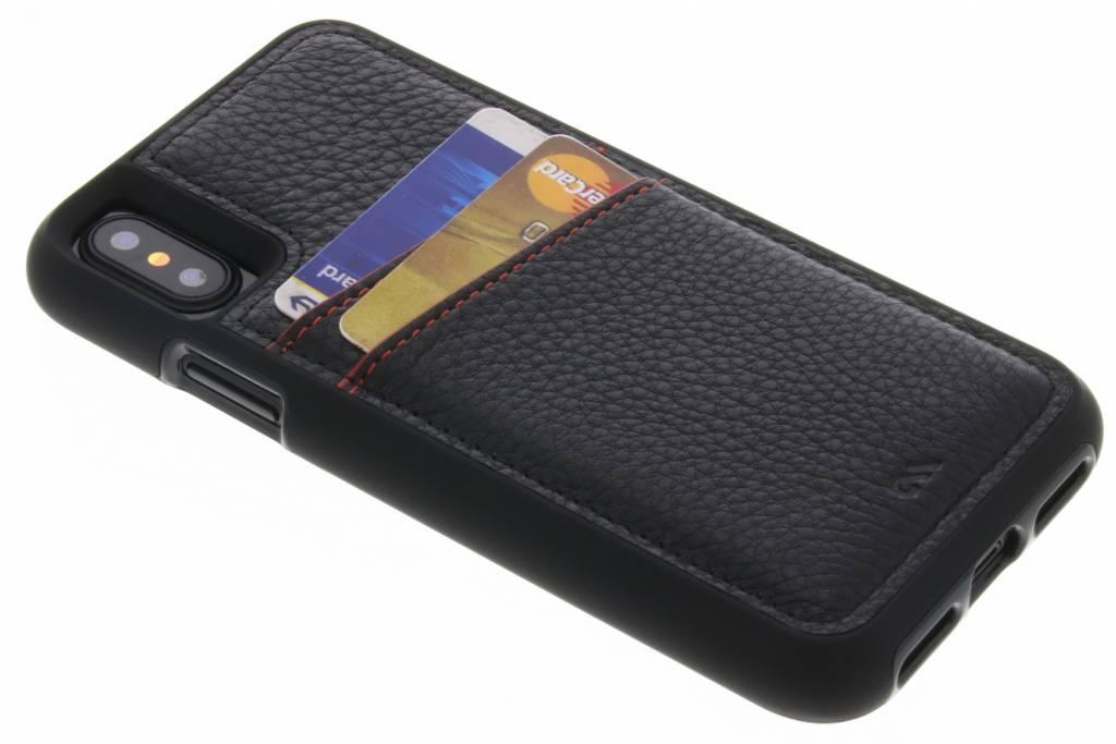 Case-Mate Zwarte Tough ID Case voor de iPhone Xs / X
