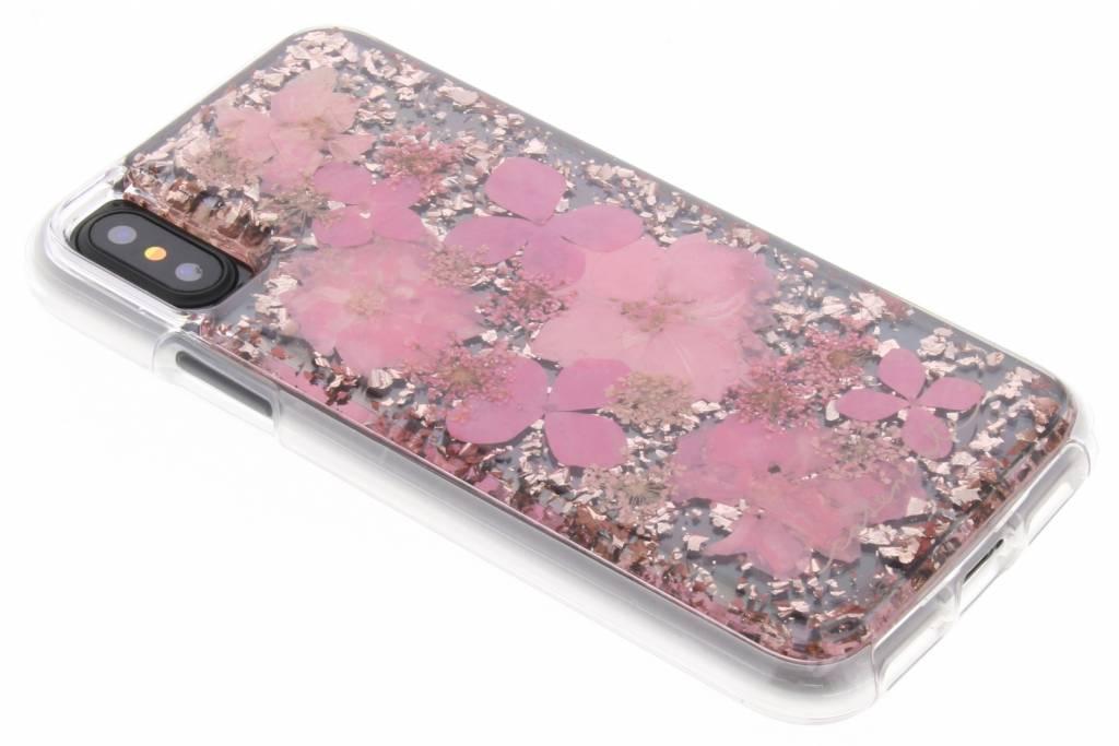 Case-Mate Roze Karat Petals Case voor de iPhone Xs / X