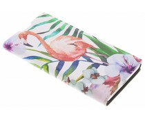 Flamingo Design Booklet Sony Xperia L1