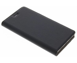 Zwart Effen Booklet Huawei P8 Lite