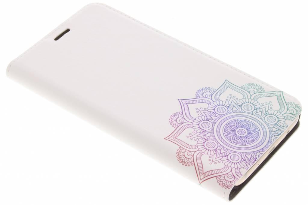 Multicolor Mandala Design Booklet voor de Samsung Galaxy J7 (2017)