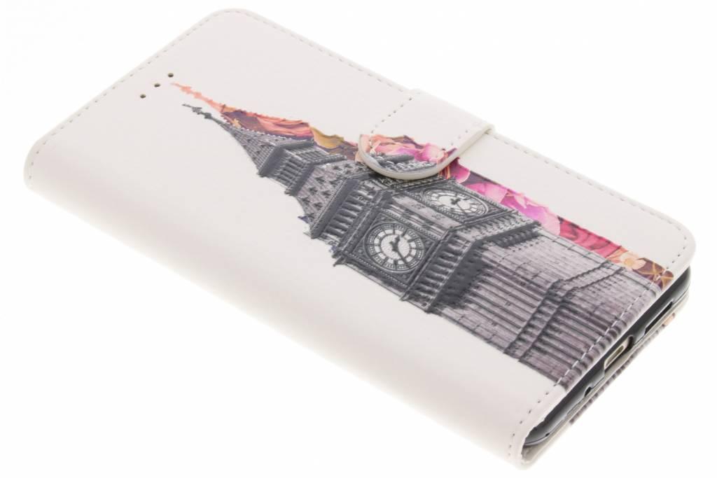 Big Ben design TPU booktype hoes voor de Huawei P10 Lite