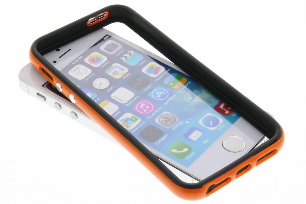 Oranje bumper voor de iPhone 5 / 5s / SE