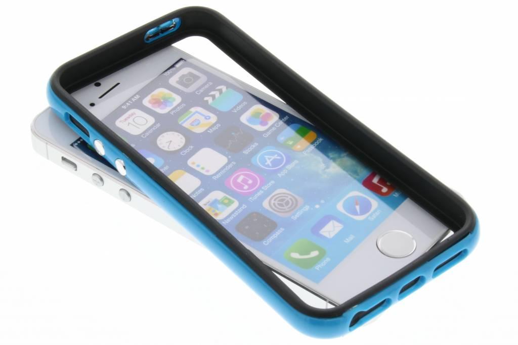 Blauwe bumper voor de iPhone 5 / 5s / SE
