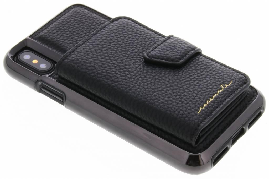 Case-Mate Zwarte Compact Mirror Case voor de iPhone Xs / X