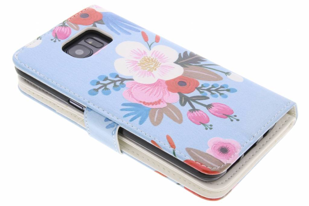Design Floral Portefeuille Pour Tpu Bord Samsung Galaxy S 31yZvn