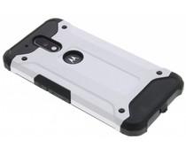 Zilver rugged Xtreme Case Motorola Moto G4 (Plus)