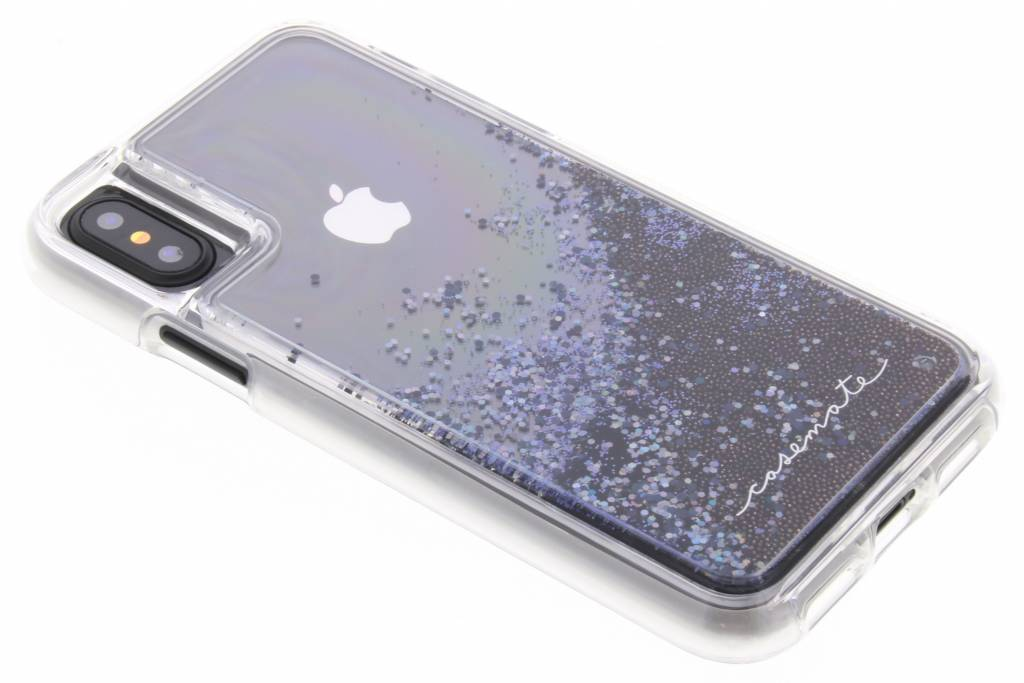 Case-Mate Zwarte Naked Tough Waterfall Case voor de iPhone Xs / X