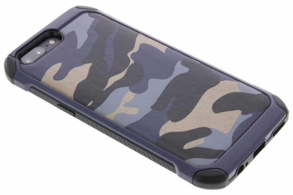 Blauw army defender hardcase hoesje voor de OnePlus 5
