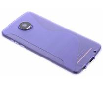 S-line TPU hoesje Motorola Moto Z2 Play
