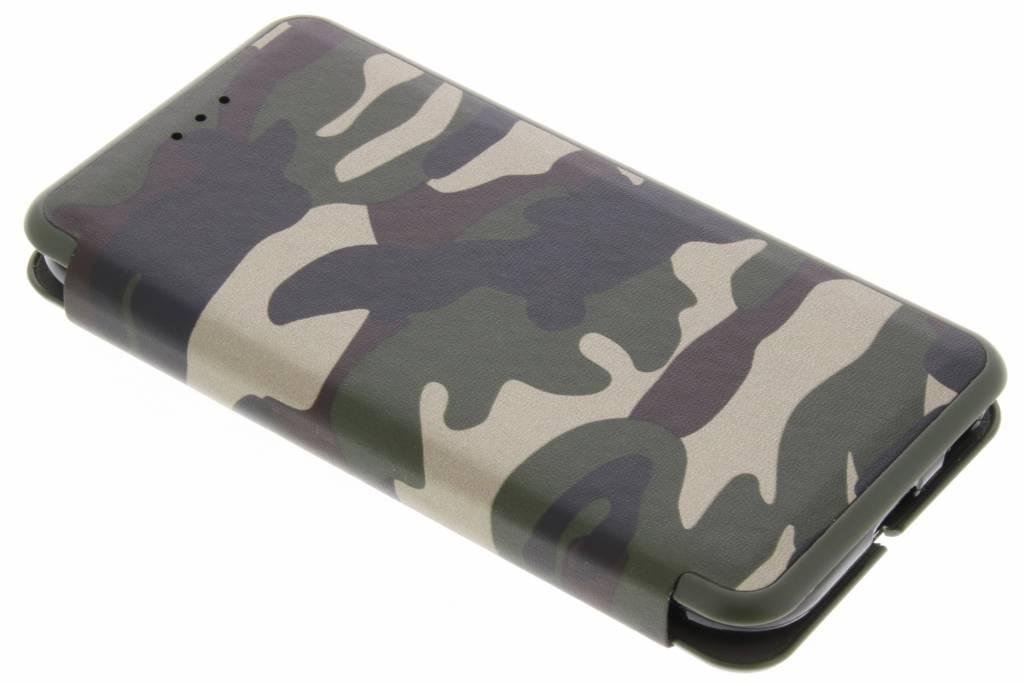 Groene Army Slim Folio Case voor de Samsung Galaxy J3 (2017)