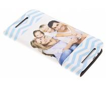 Ontwerp uw eigen HTC One M8 / M8s booktype (bedrukt)
