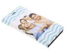 Ontwerp uw eigen Huawei P8 Lite booktype hoes (bedrukt)