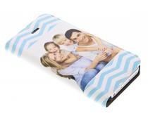 Ontwerp uw eigen iPhone 5 / 5s / SE booktype hoes (bedrukt)