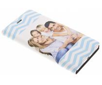 Ontwerp uw eigen Huawei P9 Lite booktype hoes (bedrukt)