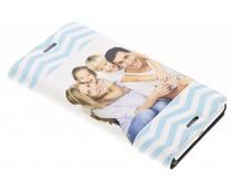 Ontwerp uw eigen Sony Xperia X booktype hoes (bedrukt)
