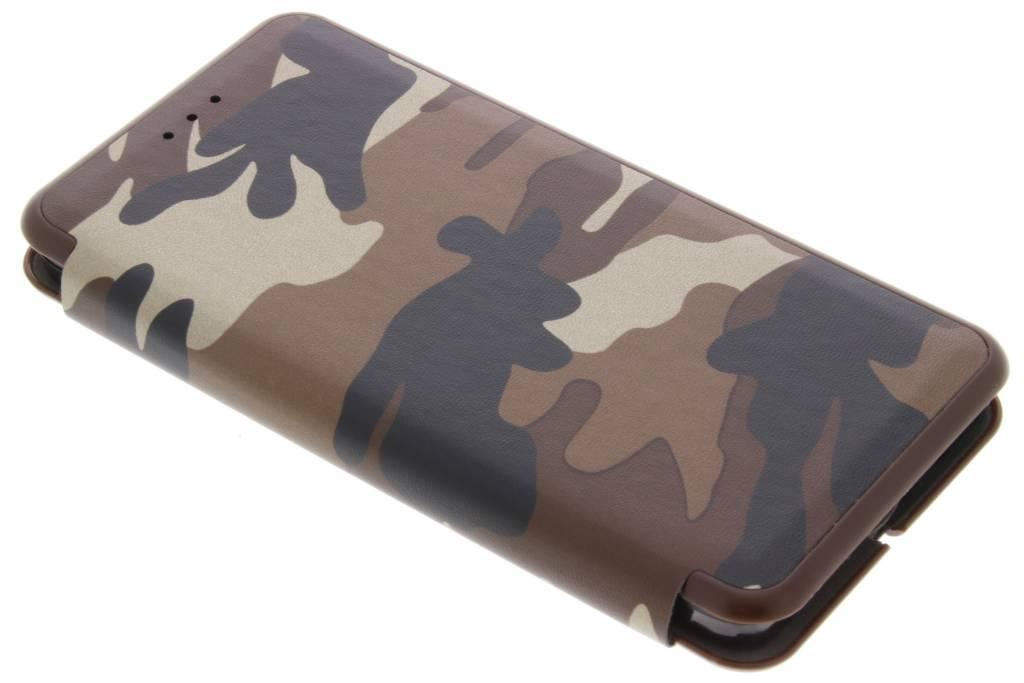 Bruine Army Slim Folio Case voor de Samsung Galaxy A5
