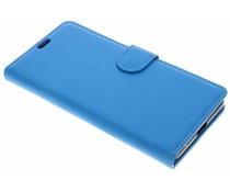 Blauw Litchi Booktype Hoes Google Pixel 2 XL