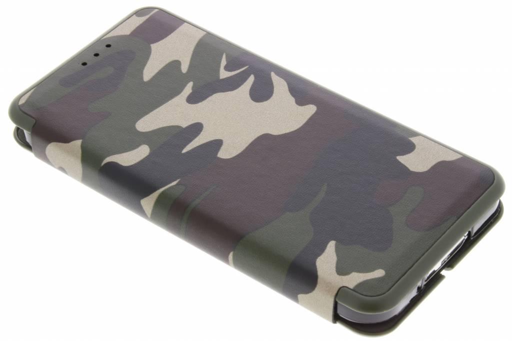 Groene Army Slim Folio Case voor de Samsung Galaxy S5 (Plus) / Neo