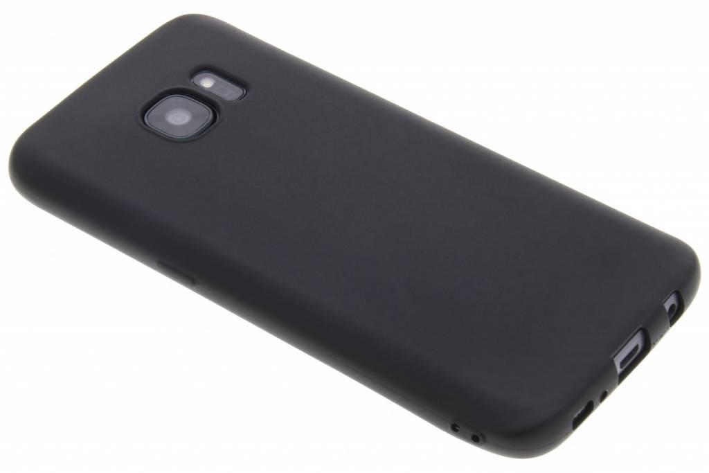 Zwart Color TPU hoesje voor de Samsung Galaxy S7