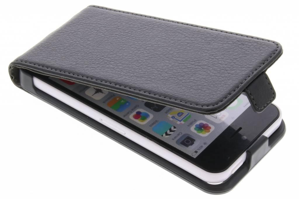 Be Hello Zwarte Flip Case voor de iPhone 5c