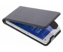 Be Hello Zwart Flip Case Sony Xperia Z3 Compact