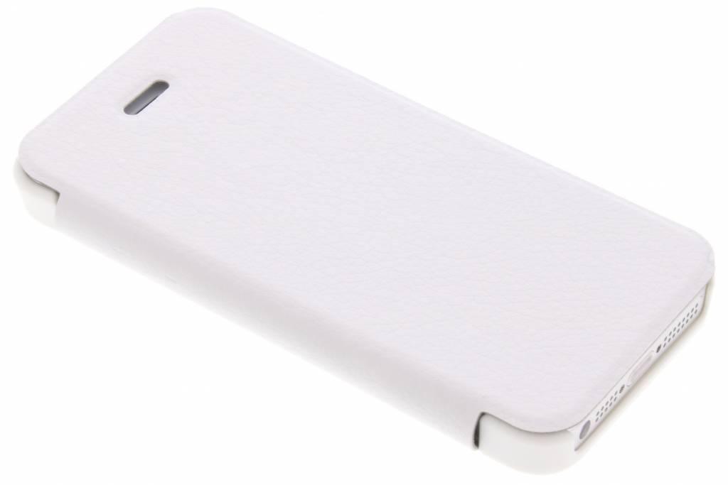 Be Hello Witte Book Case voor de iPhone 5 / 5s / SE