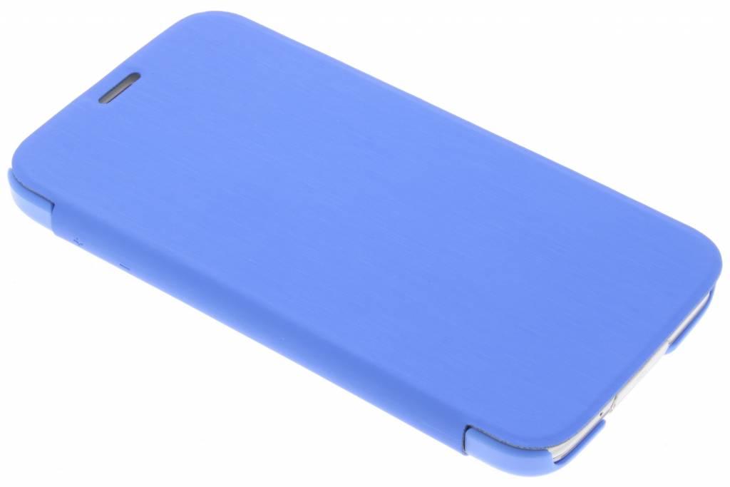 Be Hello Blauwe Book Case voor de Samsung Galaxy S5 (Plus) / Neo