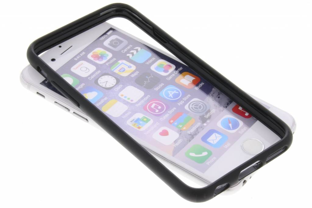 Be Hello Zwarte Bumper Case voor de iPhone 6 / 6s
