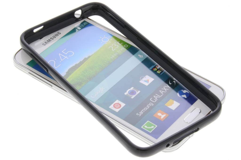Be Hello Zwarte Bumper Case voor de Samsung Galaxy S5 (Plus) / Neo