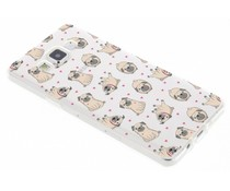 Pug LoveTPU hoesje Samsung Galaxy A5