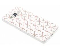 Cubes design TPU hoesje Samsung Galaxy A5