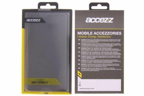 Simple Livret Noir Pour Sony Xperia L1 ZEuwZ9U