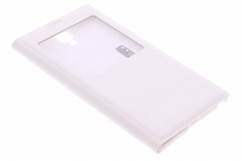Witte flipcover met venster Samsung Galaxy Note 3