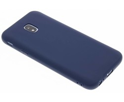 Donkerblauw Color TPU hoesje Samsung Galaxy J3 (2017)